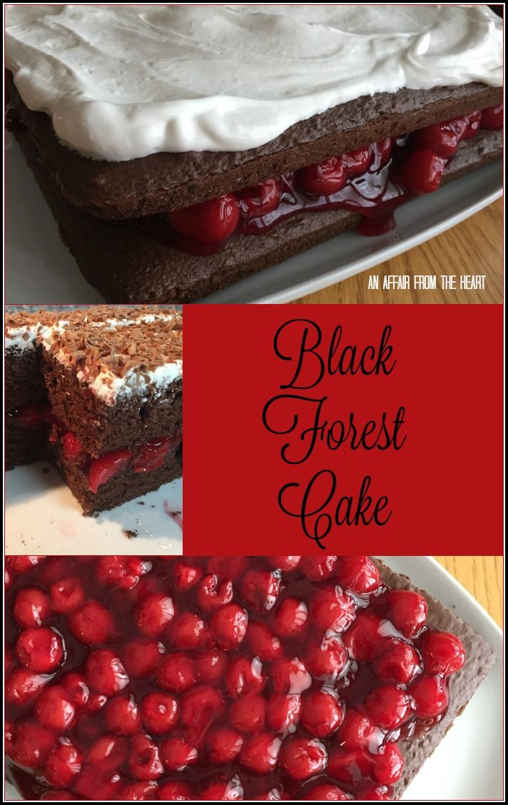 Black Forest Cake – For Juli
