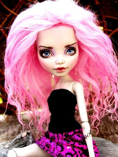 Monster High Frankie repaint custom doll by dmasi007, via Flickr