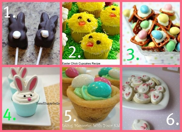 My kids will be having Easter Parties and while I know I will be making Bird Nests, I was hoping to spice things up a bit.  Now that Pinterest is here, we really don't have an excuse for not being creative.