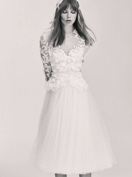 Vestidos de novia cortos 2017: los diseños más TOP. ¡Elige el tuyo! Credits: Elie Saab