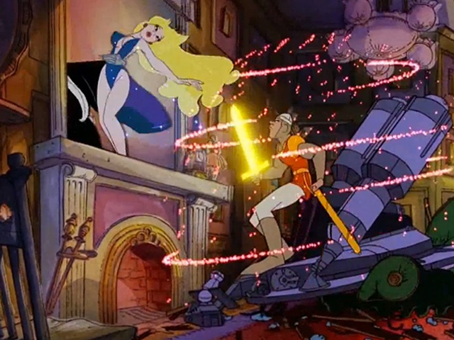 free dragon's lair video game