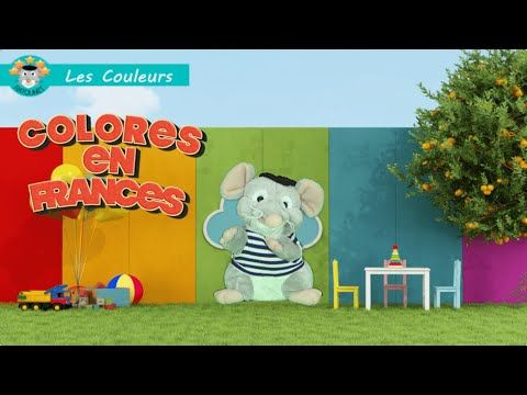 Ratounet: Colores en Francés
