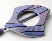 Affinità - fatto a mano scialle Pin - spilla per sciarpe e cappucci