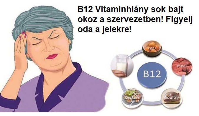Elég veszélyes a B12 vitaminhiány a szervezetben. Ezek a jelei – Azt beszélik