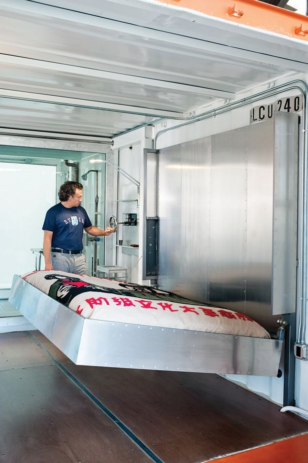 Shipping Container Home Office x Guest Bedroom (3)