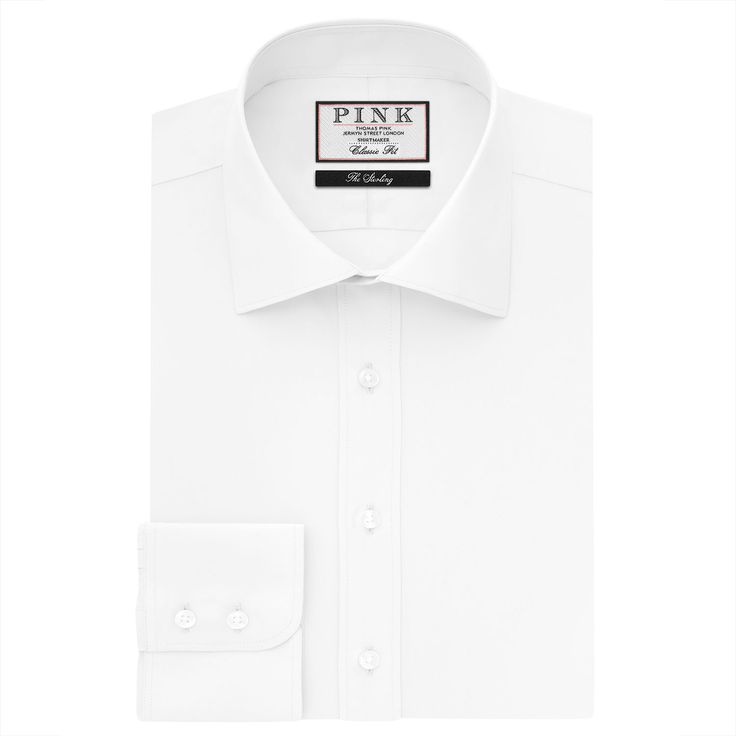 <p>Easy to wear <a class=pink  href='/shirts/mens/fcp-category/list'>shirt</a>s that look and feel great, are Thomas Pink's heartland. With shirting patterns drawn from our Jermyn Street heritage and fabricated in two-fold 100s cotton poplin, they have a handle on quality and attention to detail that sets them apart. </p><p>The Frederick Poplin <a class=pink href='/classic_shirts/mens...