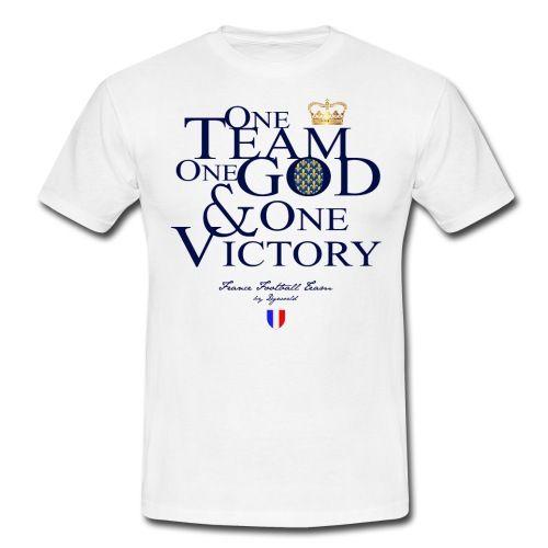 One Team france - citation - football - sport - Tee shirt Homme