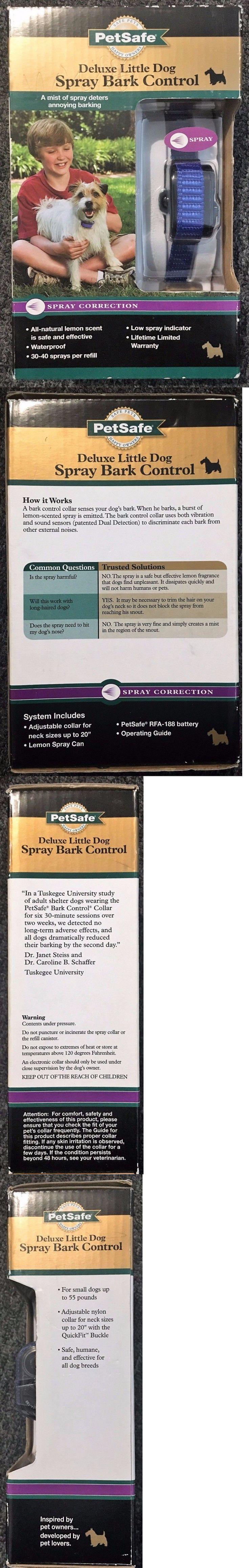 Bark Collars 66774: Petsafe Deluxe Little Dog Spray Bark Control -> BUY IT NOW ONLY: $42.9 on eBay!