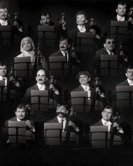 Robert Doisneau // Maurice Baquet (Montage) 1957