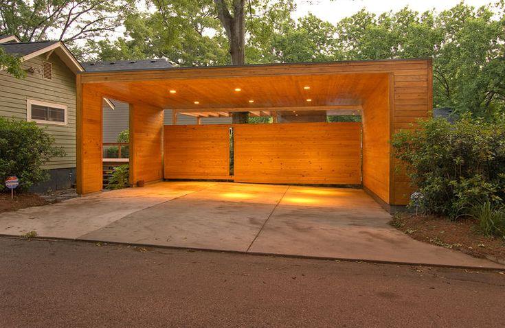 Modern carport in Decatur, Georgia