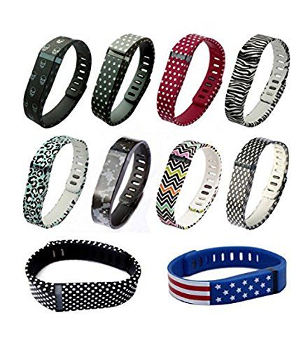 Amazon.com: Set 10 Colors Small S Replacement Bands for Fitbit FLEX Only With Clasps /No tracker Bands Wireless Activity Bracelet Sport Wristband Fit Bit Flex Bracelet Sport Arm Band Clasp Armband: Sports & Outdoors