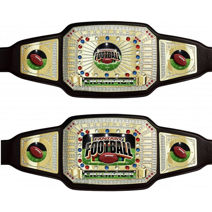 Fantasy Football Champion Trophy Belt | Fantasy Football Championship Award Belt