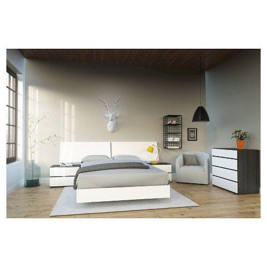 5 Piece Acapella Full Size Bedroom Set   Nexera   Target. Best 25  Full size bedroom sets ideas on Pinterest   Girls bunk