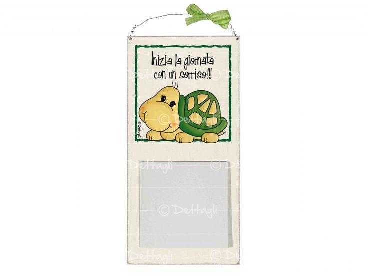 Memo porta appunti tartaruga. Lavagne e Memo