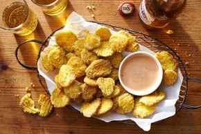 There's only thing better than fried pickles and that's fried pickles dipped in our Roundhouse-Kick Sauce. So, you thought ranch dressing was the end-all when it came to dippable condiments? Prepare to be amazed at this zesty little number. It calls for mayonnaise, chili sauce, ketchup, vinegar, Sriracha and Worcestershire. Add a dash of smoked paprika, a pinch of salt and dried mustard, and a sprinkling of pepper and you have one tasty sauce perfect for our Fried Pickle Chips. Now, when it…