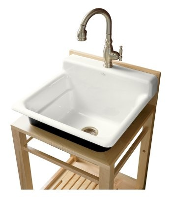 kohler utility sink for laundry room bathroom/basement remodel Pi ...