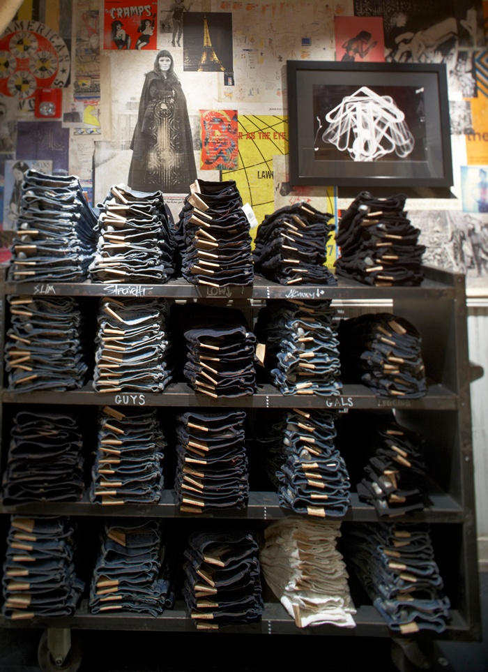 Denim & Supply Ralph Lauren    Denim for days at the first ever Denim & Supply location on Newbury Street in Boston. Our second D store opened just last week in downtown NYC.