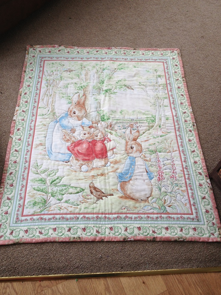 Peter Rabbit Quilt Baby Things Pinterest Quilt