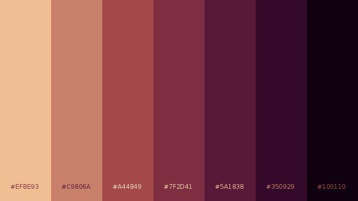 Palitra On Maroon Color Palette Color Pallets Maroon Color