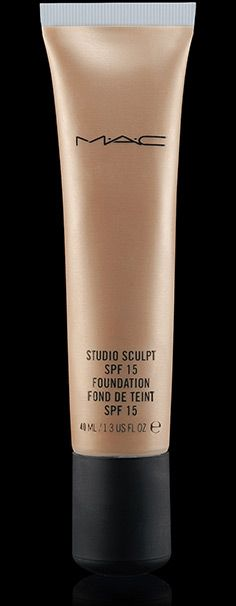 Studio Sculpt SPF 15 Foundation~~My new favorite! I get full coverage without the cakey look, and I feels like I have nothing on my face. Set with a translucent powder and it lasts all day.