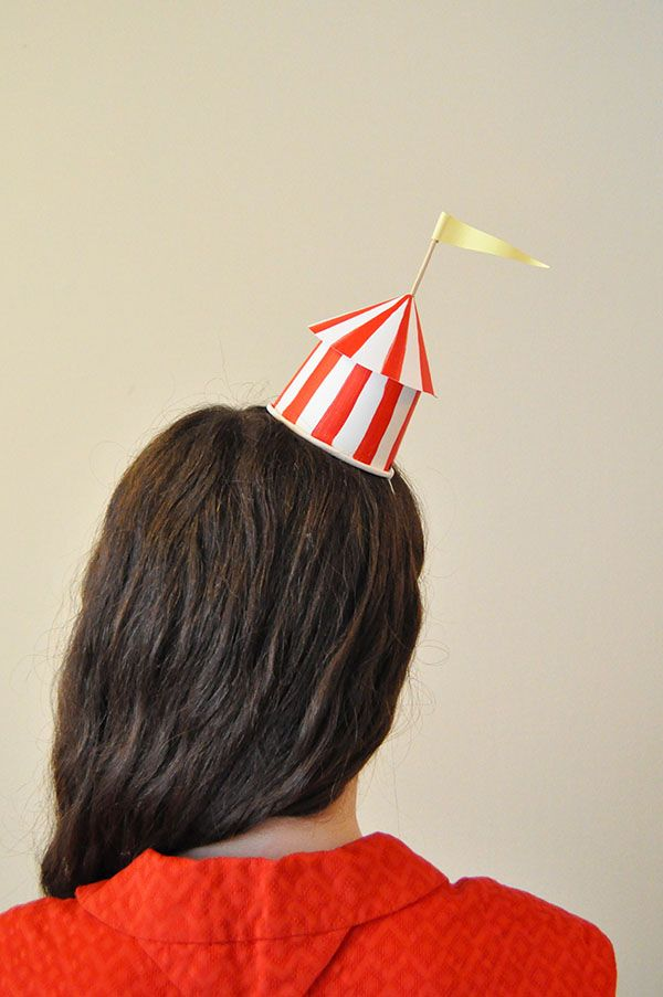DIY Circus Party Hats | Oh Happy Day!: