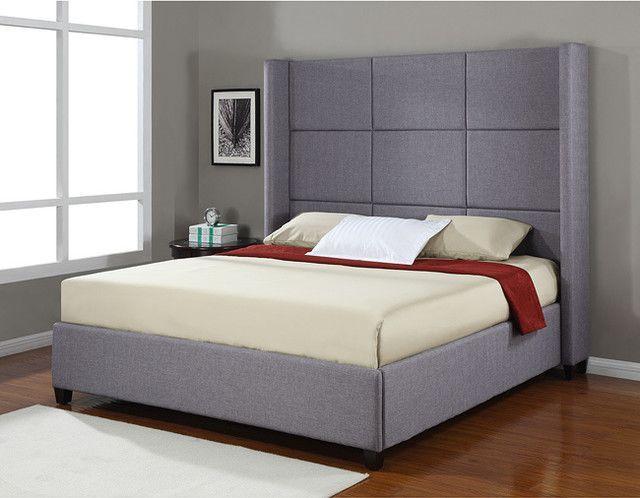Modern King Bed Frame King Size Platform Bed King Size Bed
