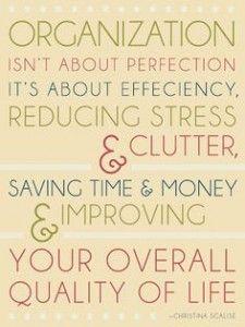 Cool sayings for balanced organization