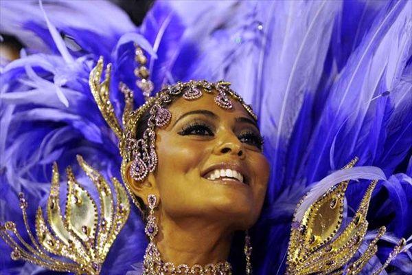carnaval de Rio. Juliana Paes.