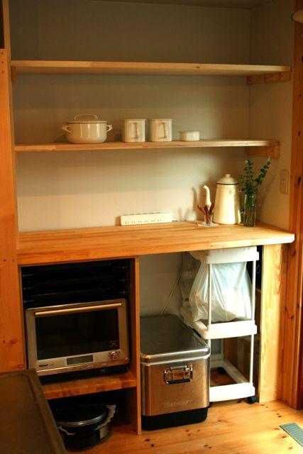キッチンラック DIY : peddyのくまちゃん カメラを持って。 c0163369_7254552.jpg