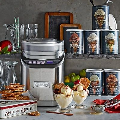Oh how I love ice cream! But I don't want all the additives from store bought. Dream up  your own flavors. Cuisinart Electric Ice Cream Maker, Ice 70