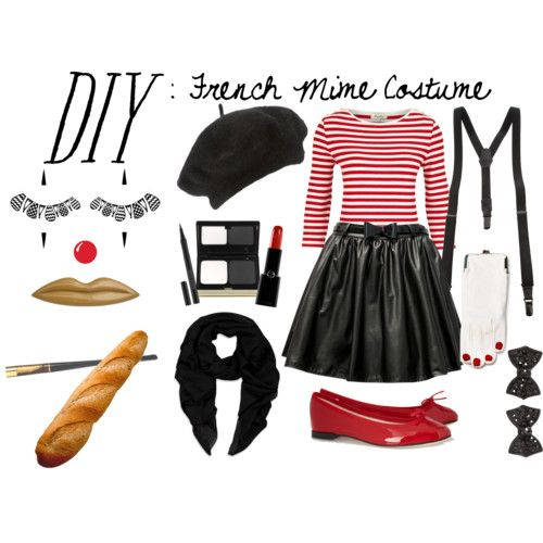French Mime Costume Diy
