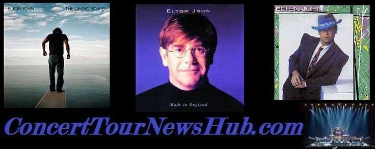 Updated Elton John 2015 The Final Curtain Tour Schedule & Concert Tickets - Updated @eltonjohndotcom #MusicNews #TourSchedule