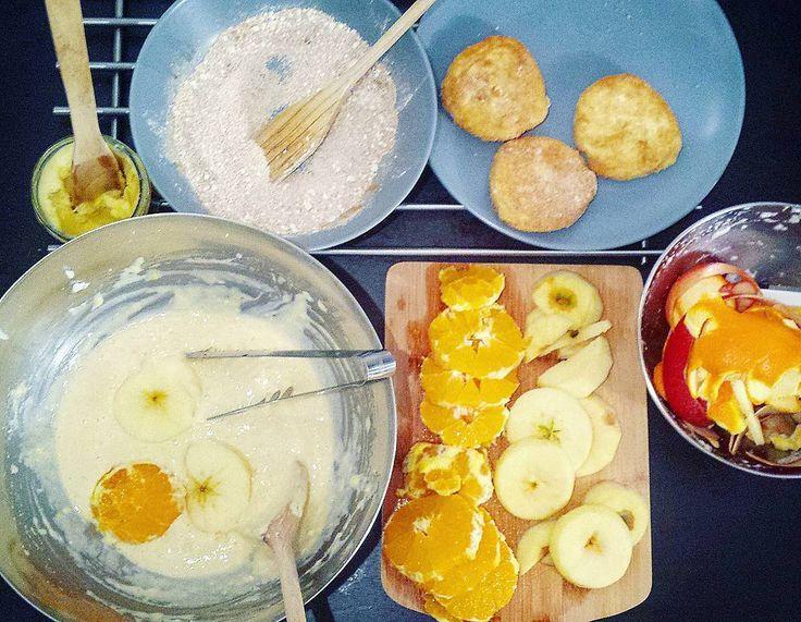 Beignets de fruits ! Mardi gras healthy