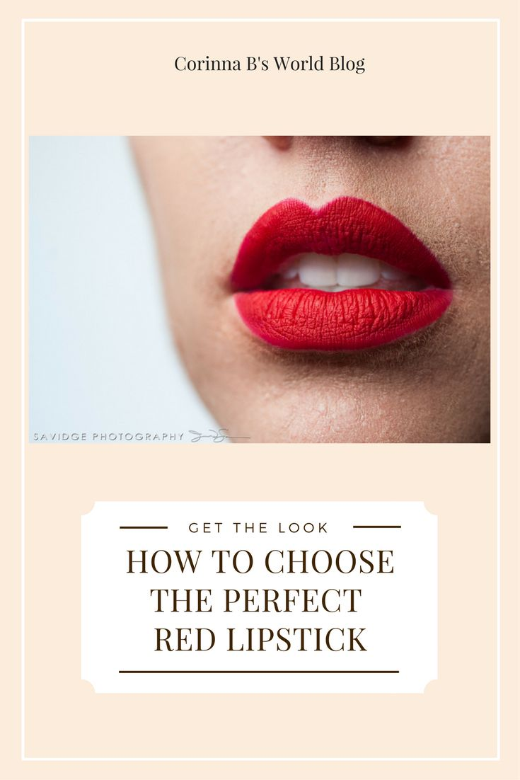 How To Choose The Perfect Red Lip. Nothing says confident and fabulous quite like a gorgeous red lip. Learn how to choose the perfect shade of red for your skin tone