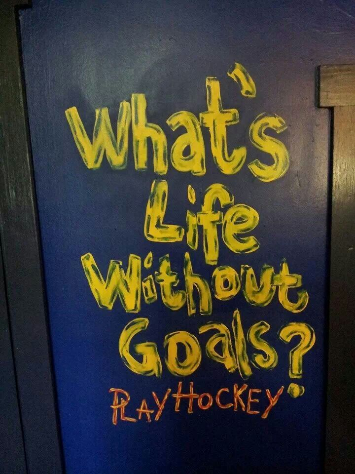 NHL hand paint a quote to decorate your hockey for room. St. Louis Blues