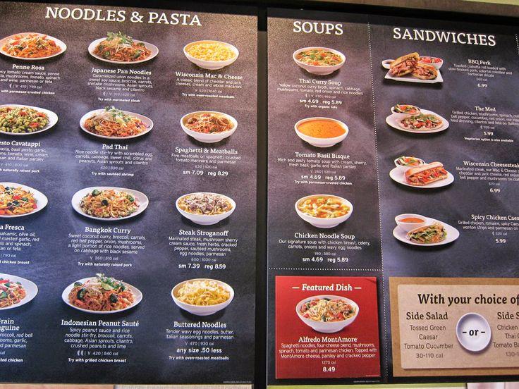 pasta menu design  google 検索