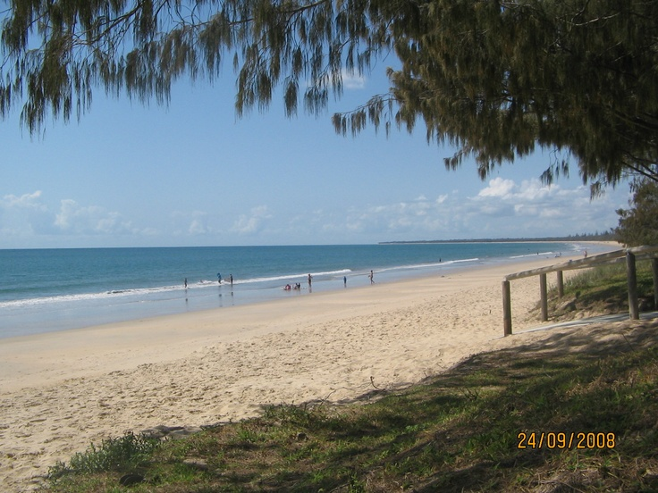 Woodgate Beach, Queensland, Australia Beautiful Woodgate, this is the beach I judge all other beaches by, and none of them measure up.  I have been going to this beach my whole life.  Love it.