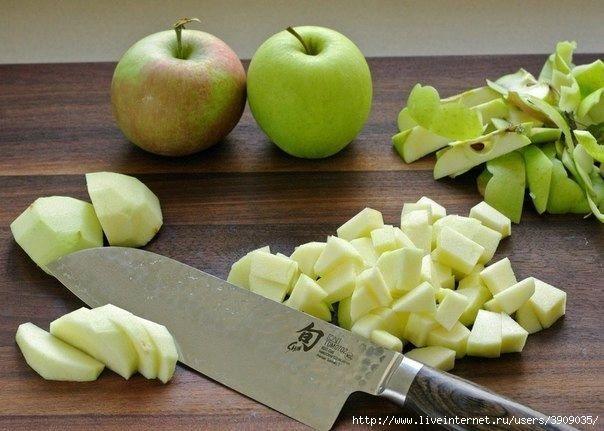 Яблочный штрудель - просто