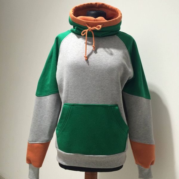 Pidge Voltron Sweatshirt By Wolvenstyle. Made in Europe ($70) ❤ liked on Polyvore featuring tops, hoodies, sweatshirts, hooded pullover, hoodies sweatshirts, hooded sweatshirt, sweatshirt hoodies and green hoodies