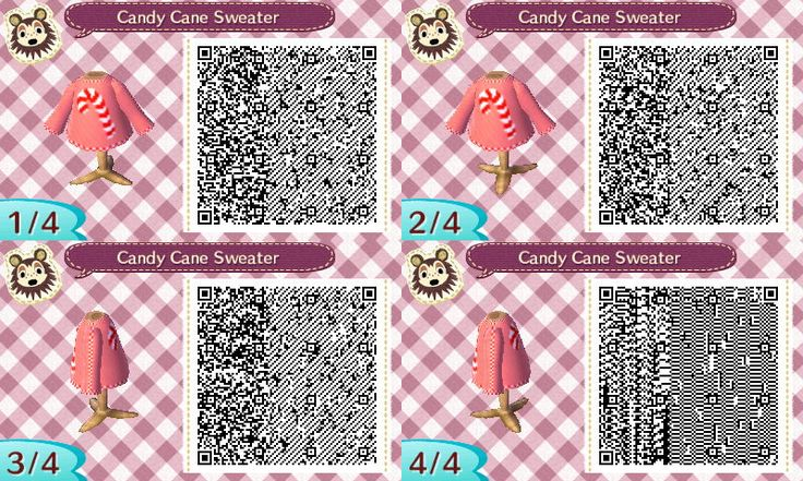 The Gay Gamer: Is it too early for me to post QR codes of Animal Crossing: New Leaf Christmas sweater designs?