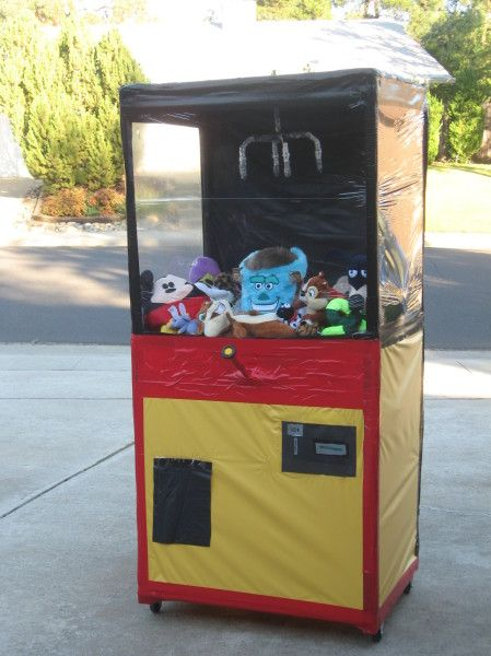 how to build a claw machine