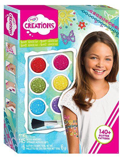 Crayola 26208 -  Set Creations Tatuaggi Arcobaleno