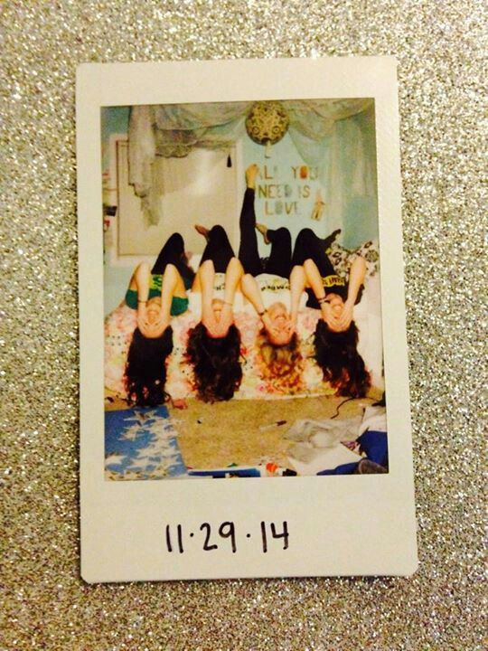 best friend polaroid pictures-- a must for when I'm home!