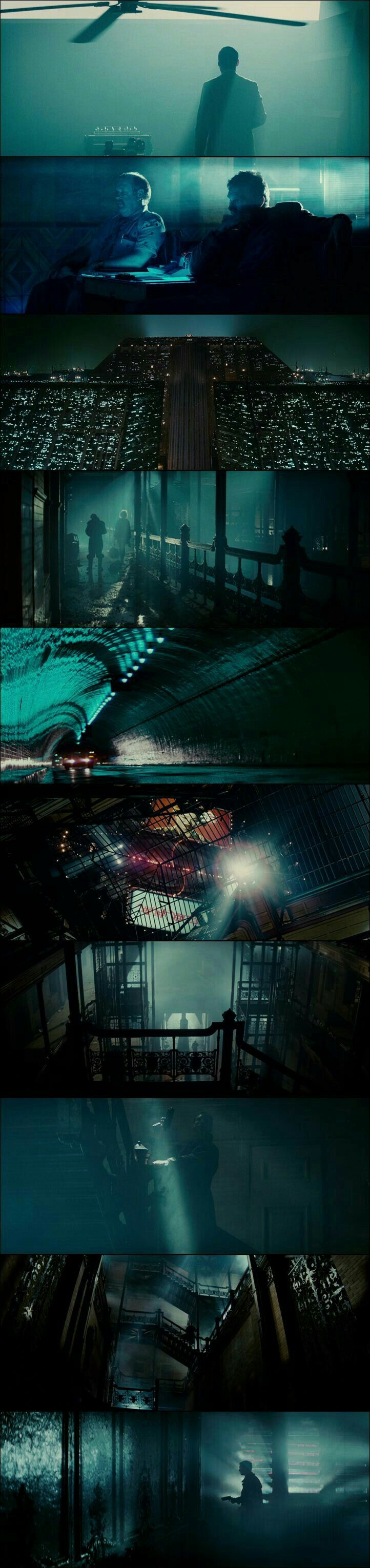 Blade Runner (1982) beautiful scenes from this magnificent movie.