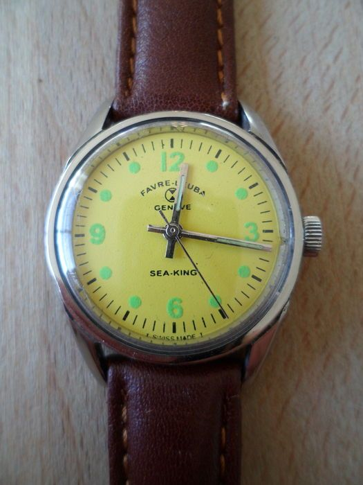 Currently at the #Catawiki auctions: Favre Leuba - Vintage c.1960's wrist watch - Gents/boys/unisex