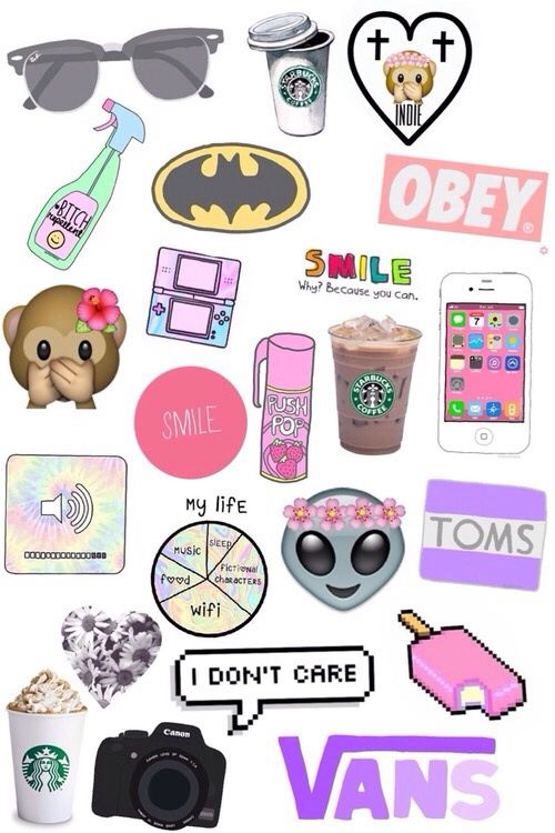 E Image On We Heart It In 2020 Tumblr Stickers Emoji Wallpaper Aesthetic Stickers