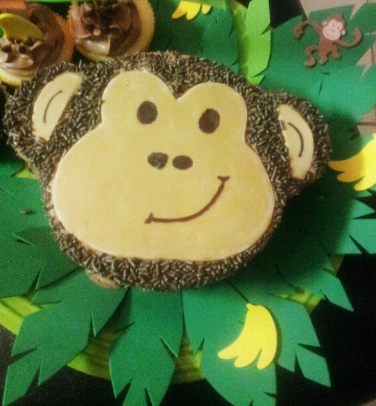 monkey face template for cake - monkey face cake by ld cakes n cupcakes sweet treats