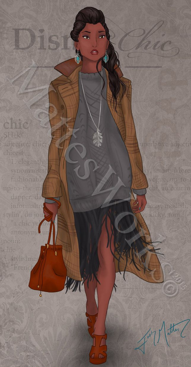 Chic Pocahontas by MattesWorks on DeviantArt