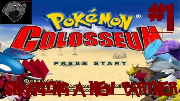 Let's Play Pokemon Colosseum (Nintendo Gamecube) #1: Snagging A New Partner