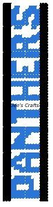 CAROLINA PANTHERS - Football Collection - Bookmarkers - Plastic Canvas Pattern by DeesCrafts2012 on Etsy